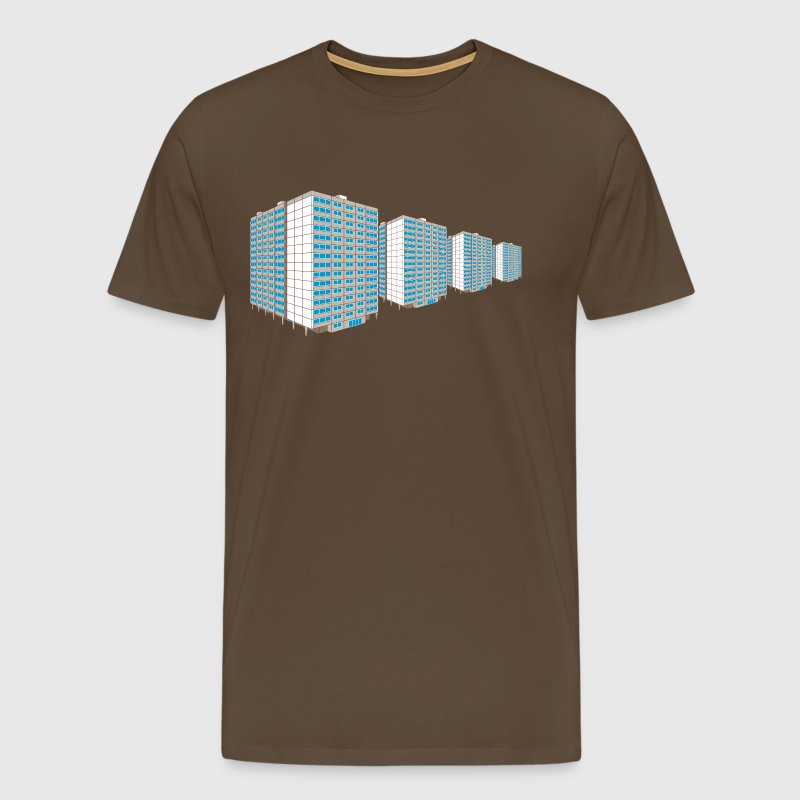 High-rise housing estate East - Men's Premium T-Shirt