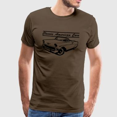 Classic American Cars 1 - T-shirt Premium Homme