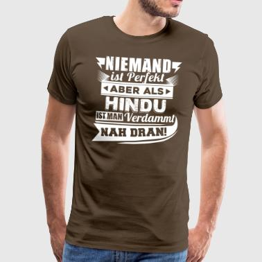 Niemand Is Perfect Niemand is perfect - HinduT-shirt - Mannen Premium T-shirt