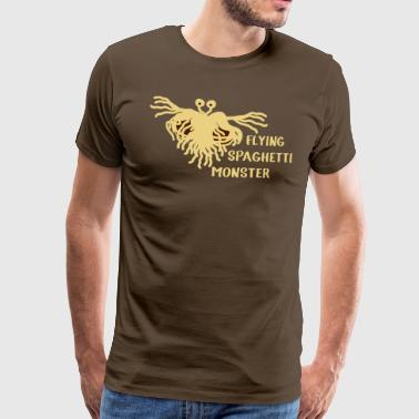 Flying Spaghetti Monster - Männer Premium T-Shirt