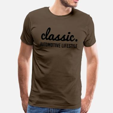 Automotive Std. Classic. - Men's Premium T-Shirt