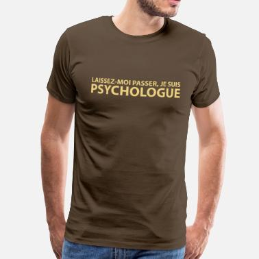 Psychologue psychologue - T-shirt Premium Homme