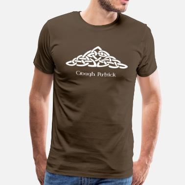 Croagh Patrick celtic_mountain - Men's Premium T-Shirt