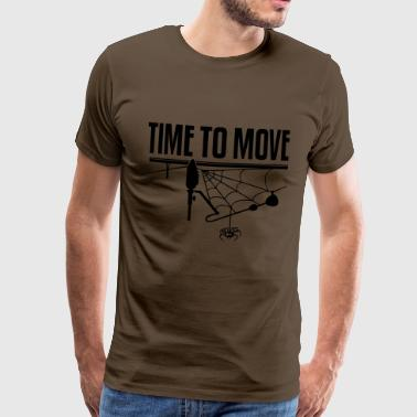 TIME TO MOVE - Männer Premium T-Shirt
