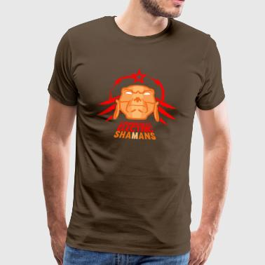 communist electric shamans - Men's Premium T-Shirt