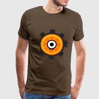 Clockwork Eye - Männer Premium T-Shirt