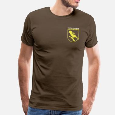 Canaries champion canary birds - Canary - Men's Premium T-Shirt