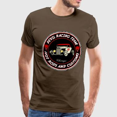 Devil racing team 01 - Männer Premium T-Shirt