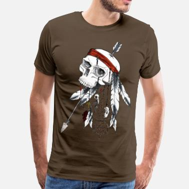 Indien dream catcher - T-shirt Premium Homme