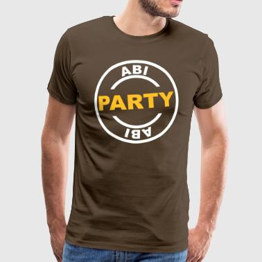 ABI Party - Männer Premium T-Shirt
