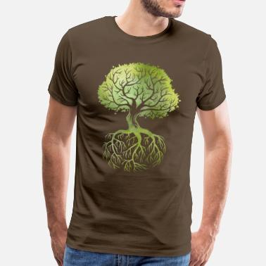 Tree Roots - Men's Premium T-Shirt
