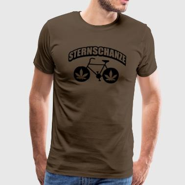 Weed Bike Hamburg Sternschanze - T-shirt Premium Homme