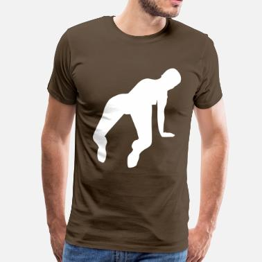 Sex Silhouette sex - Men's Premium T-Shirt