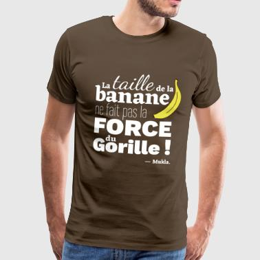 taille banane - T-shirt Premium Homme
