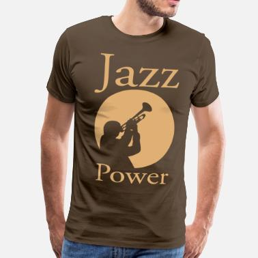 Jazz Jazz power 02 - T-shirt Premium Homme