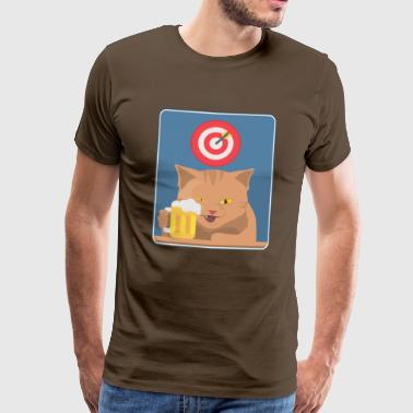 Le chat de Cheer - T-shirt Premium Homme
