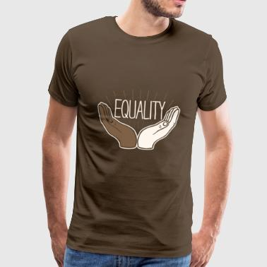 Equality Equality Hands Drawing Godigart - Men's Premium T-Shirt