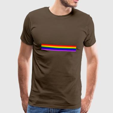 Band rainbow / rainbow band - Men's Premium T-Shirt
