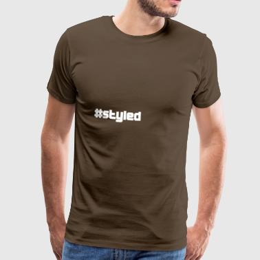 styled styled - Men's Premium T-Shirt