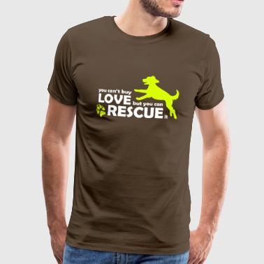 Dog Dog Rescue - Rescue Dogs - Animal Protection - Men's Premium T-Shirt