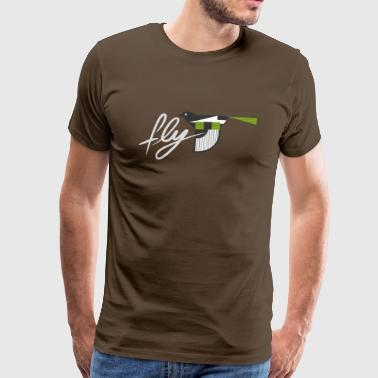 Fly - Bird - Men's Premium T-Shirt