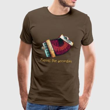 accordéon - T-shirt Premium Homme
