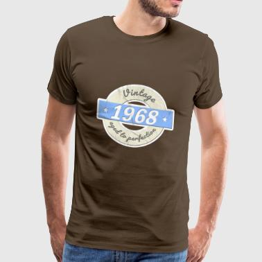 Fiftieth birthday 1968 vintage shirt - Men's Premium T-Shirt