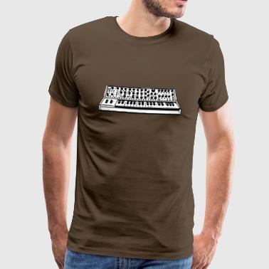 Synthesizer Analog synthesizer - Herre premium T-shirt