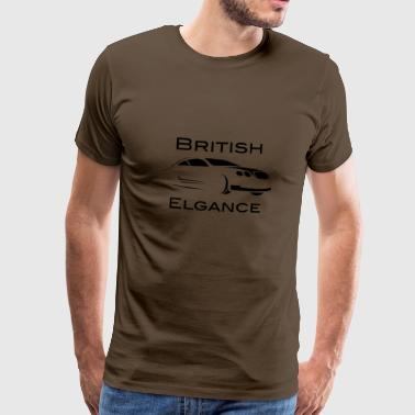 Bentley British Elgance - Premium T-skjorte for menn