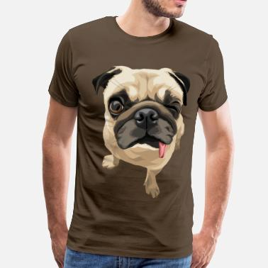 Pug Twinky the Pug - Men's Premium T-Shirt