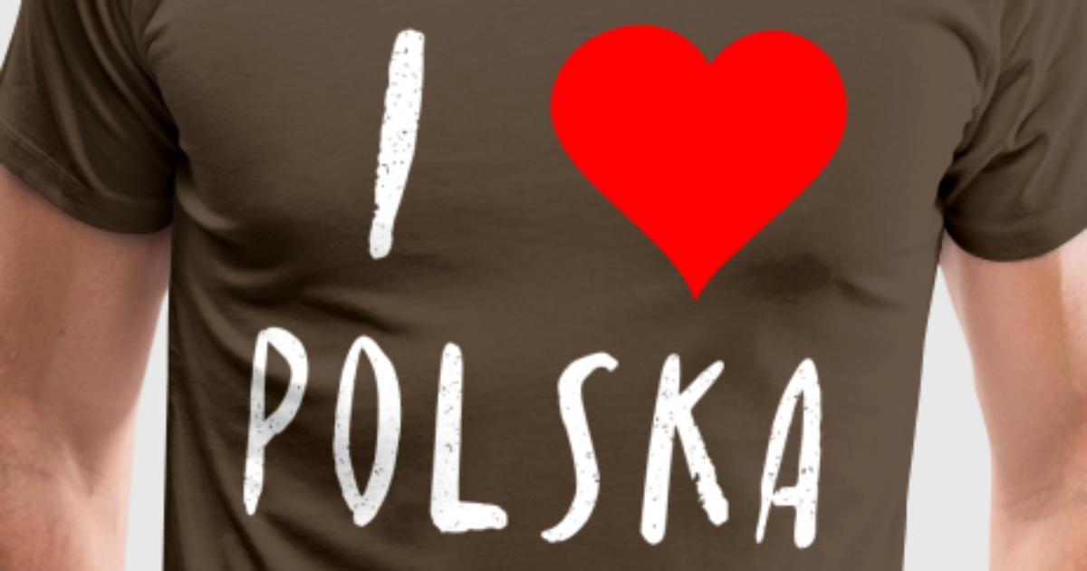 Ich liebe Polska Polen Polnisch Geschenk Idee von TeeLavio | Spreadshirt
