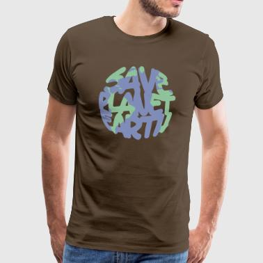 SAVE Planet Earth - Men's Premium T-Shirt