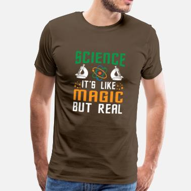 Wissenschaft SCIENCE it's like magic - Männer Premium T-Shirt