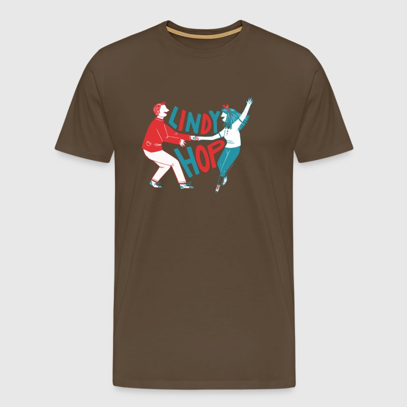 Lindy hop - Men's Premium T-Shirt