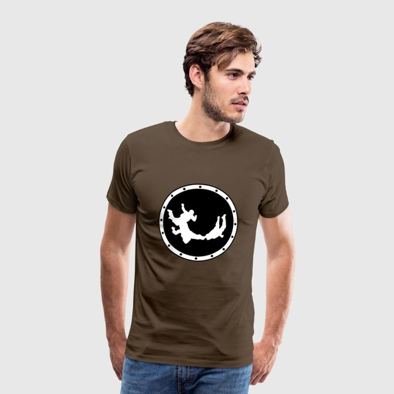 Skydiving - Men's Premium T-Shirt