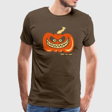 Beasty Crazy Pumpkin - Men's Premium T-Shirt