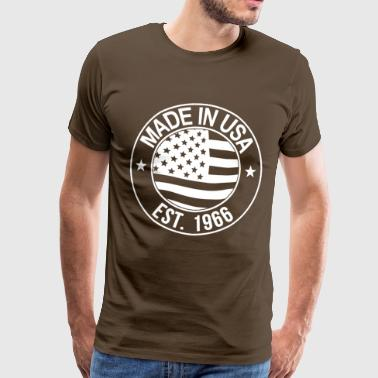 Made in USA - T-shirt Premium Homme