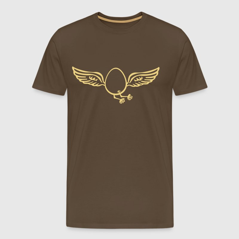 Flying Egg  - Men's Premium T-Shirt