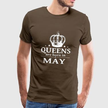 May Queen - Premium T-skjorte for menn