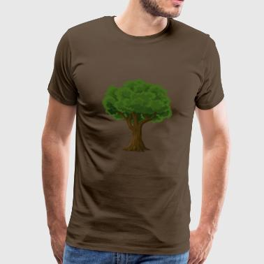 Tree for nature lovers and environmentalists - Men's Premium T-Shirt