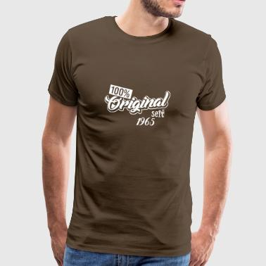 Birthday Shirt - Birthday Gift - 1965 - Men's Premium T-Shirt