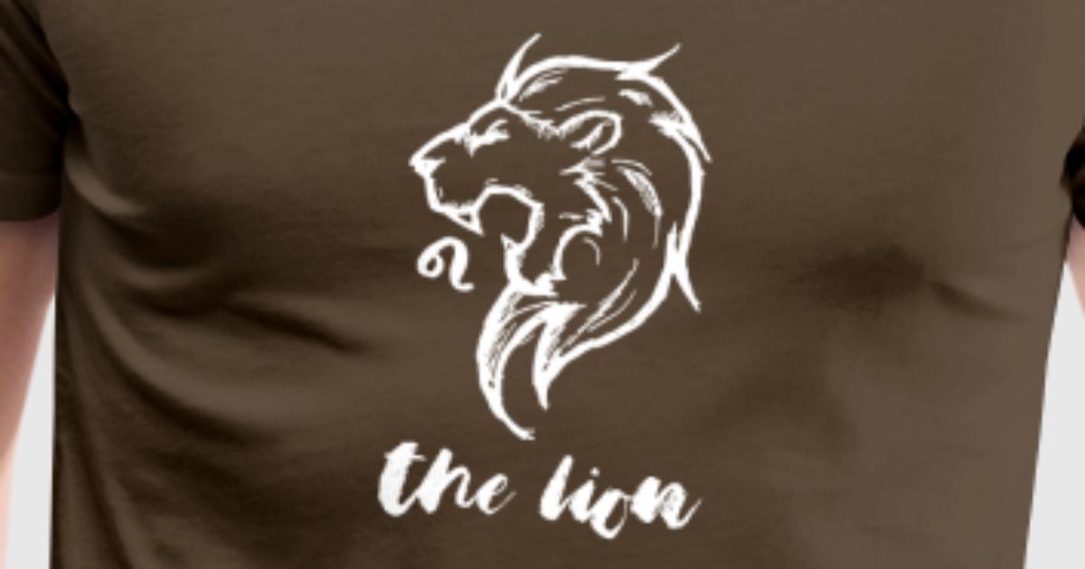sternzeichen geschenk leo l we august september t shirt spreadshirt. Black Bedroom Furniture Sets. Home Design Ideas
