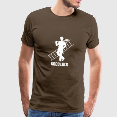 Lycka Chimney Sweeper Gift - Premium-T-shirt herr