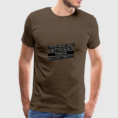 Motive for cities and countries - NORMAN - Men's Premium T-Shirt
