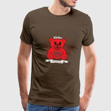 Kiel Gluecksbärchi Kiel Red Bear - Men's Premium T-Shirt
