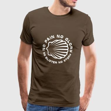 No Pain No Glory XLII (42) Wit - Mannen Premium T-shirt