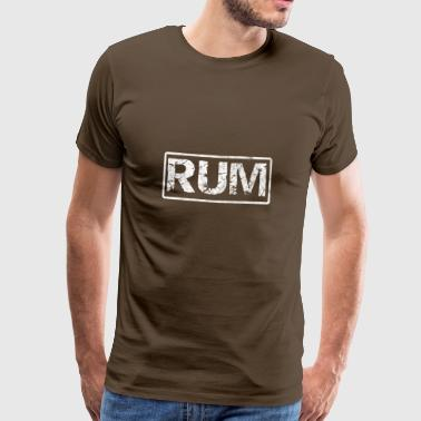 As a pirate you drink rum - gift - Men's Premium T-Shirt