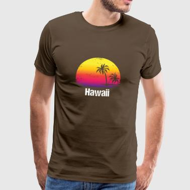 Hawaii Vacation Aloha Familieferie - Herre premium T-shirt