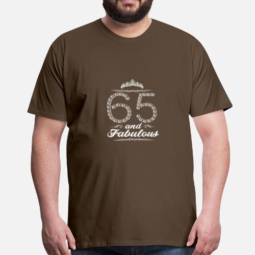 65 Years 65th Birthday Gift Mens Premium T Shirt