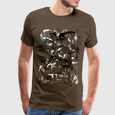art of shaolin - Men's Premium T-Shirt